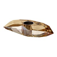 Swarovski Candle Holder Golden Shadow