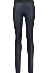 Drome Leather Leggings Midnight Blue