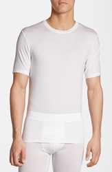 Tommy John 'Second Skin' Crewneck T Shirt White