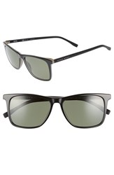 Boss Men's '0760 S' 55Mm Sunglasses Black