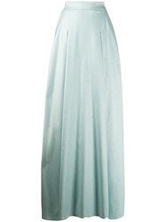 Talbot Runhof High Waist Long Full Skirt 60