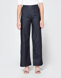 Objects Without Meaning Wide Leg Pant Light Denim