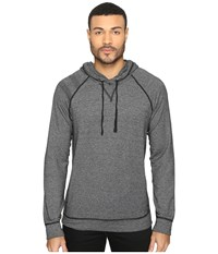 Splendid Mills Long Sleeve Graphic Hoodie Black Men's Sweatshirt