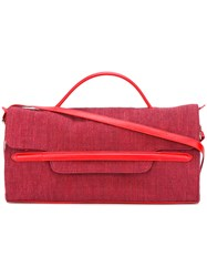 Zanellato Flap Shoulder Bag Red