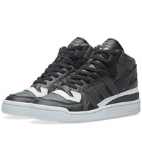 Adidas X White Mountaineering Forum Mid Black