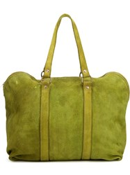 Guidi 'Gb2a' Large Tote Bag Green