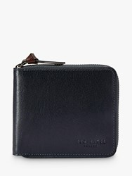 Ted Baker Kerola Leather Zip Card Wallet Navy