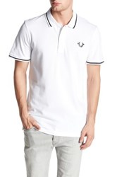 True Religion Crafted With Pride Polo White
