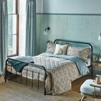 Morris And Co Little Chintz Duvet Cover Teal Blue