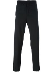 Msgm Straight Trousers Black