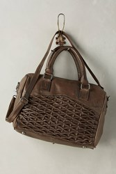 Anthropologie Isa Satchel Taupe