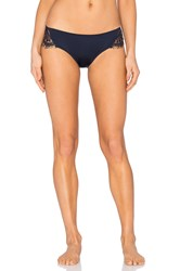 Keepsake Carmen Bikini Cut Bottom Navy