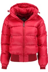Pyrenex New Mythic Quilted Shell Down Jacket Red