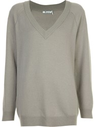 Alexander Wang T By Oversized Sweater Grey