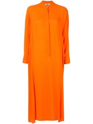 Rachel Comey Solicitous Kaftan Midi Dress Orange