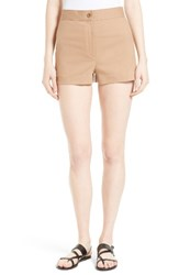 Theory Women's Biquincy Stretch Cotton Shorts