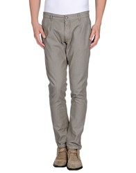 One Seven Two Trousers Casual Trousers Men Grey