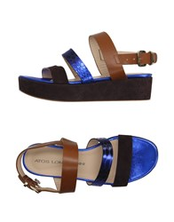 Atos Lombardini Footwear Sandals Women Dark Blue