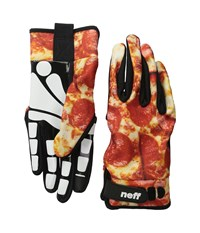 Neff Chameleon Glove Pizza Snowboard Gloves Yellow