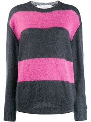Iro Striped Jumper Pink