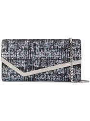 Jimmy Choo Emmie Clutch Bag Silver