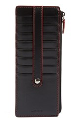 Lodis Women's Rfid Leather Credit Card Case
