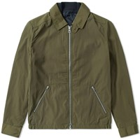 Gant Rugger Double Flyer Jacket Green