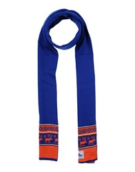 Penfield Oblong Scarves Bright Blue