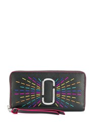 Marc Jacobs Snapshot Rainbow Continental Wallet Black