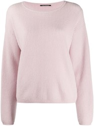Luisa Cerano Ribbed Knit Jumper 60