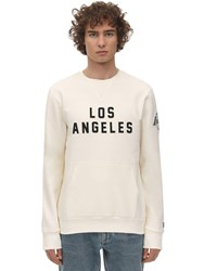 New Era Far East Cotton Blend Sweatshirt White