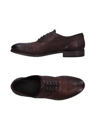 Pawelk's Lace Up Shoes Dark Brown