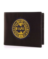 Rico Industries Notre Dame Fighting Irish Bifold Wallet Black