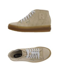 Ruco Line Footwear High Tops And Trainers Women Beige