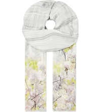 Ted Baker Window Blossom Scarf Light Purple