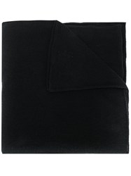 Lamberto Losani Long Scarf Black