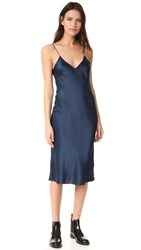 Emerson Thorpe Hallie Slip Dress Royal Blue