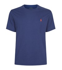 Polo Ralph Lauren Small Pony Custom Fit T Shirt Male Navy