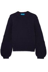 Mih Jeans M.I.H Lova Cotton Sweater Navy