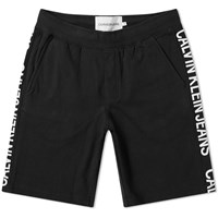 Calvin Klein Side Institutional Short Black