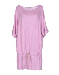Gran Sasso Dresses Short Dresses Women Light Purple