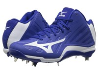 Mizuno Heist Iq Mid Royal White Men's Cleated Shoes Blue