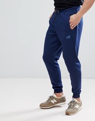 New Balance Slim Joggers In Navy Mp73543_Pgm