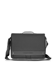 Porsche Design Briefbag Fs Black Laptop Messenger Bag Dark Gray