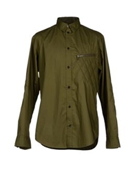 Y 3 Shirts Military Green