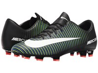 Nike Mercurial Victory Vi Fg Black White Electric Green Paramount Blue Men's Soccer Shoes