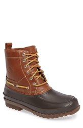 Sperry Men's 'Decoy' Waterproof Boot Tan Brown