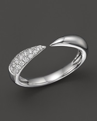 Bloomingdale's Diamond Claw Ring In 14K White Gold .20 Ct. T.W.