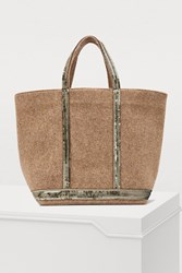 Vanessa Bruno Medium Leather Cabas Tote Bag
