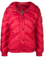 Perfect Moment Oversized Puffer Jacket Red
